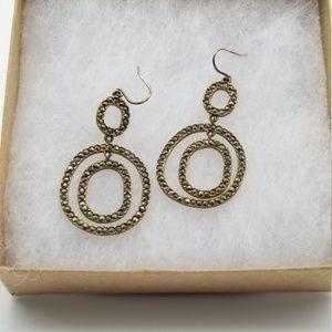 Kenneth Cole Signed Dangle Earrings #88